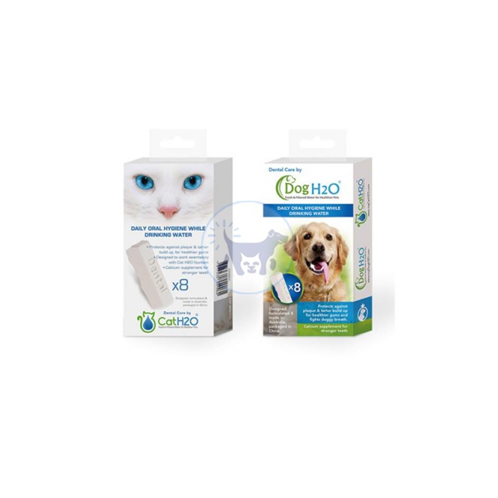 اقراص العناية بالاسنان - DogH2O & CatH2O