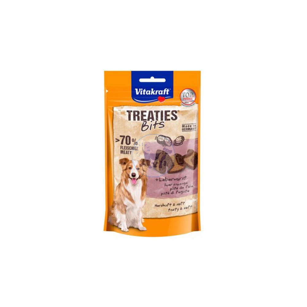 فيتاكرافت مكافأة كلاب تحتوي على حشوة لذيذة بنكهة الكبد 120 جم