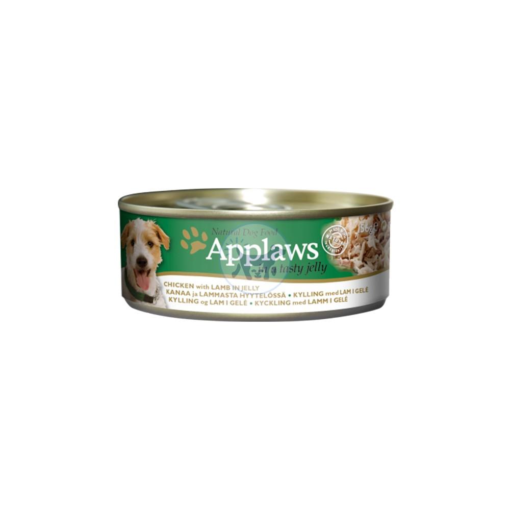 أبلاوز طعام كلاب رطب مع الدجاج و لحم الغنم بالجيلي 156 جم