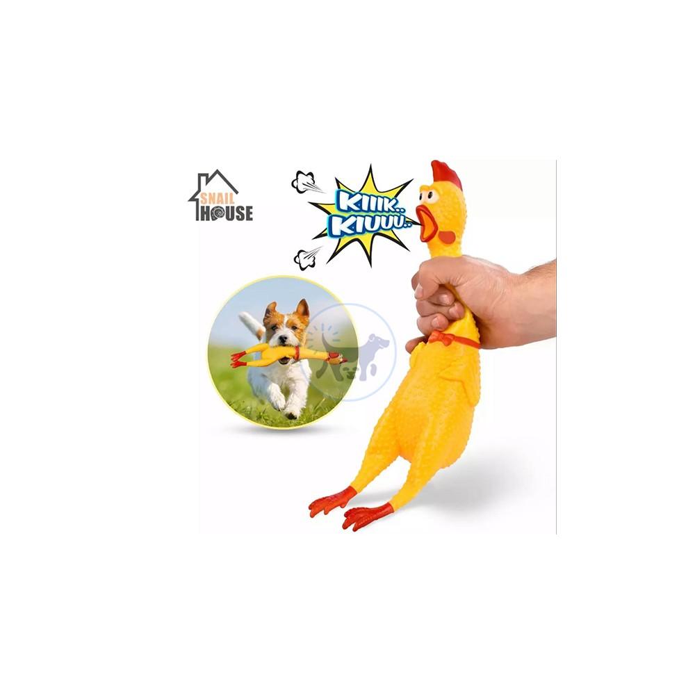 لعبة كلاب مع صوت الدجاج