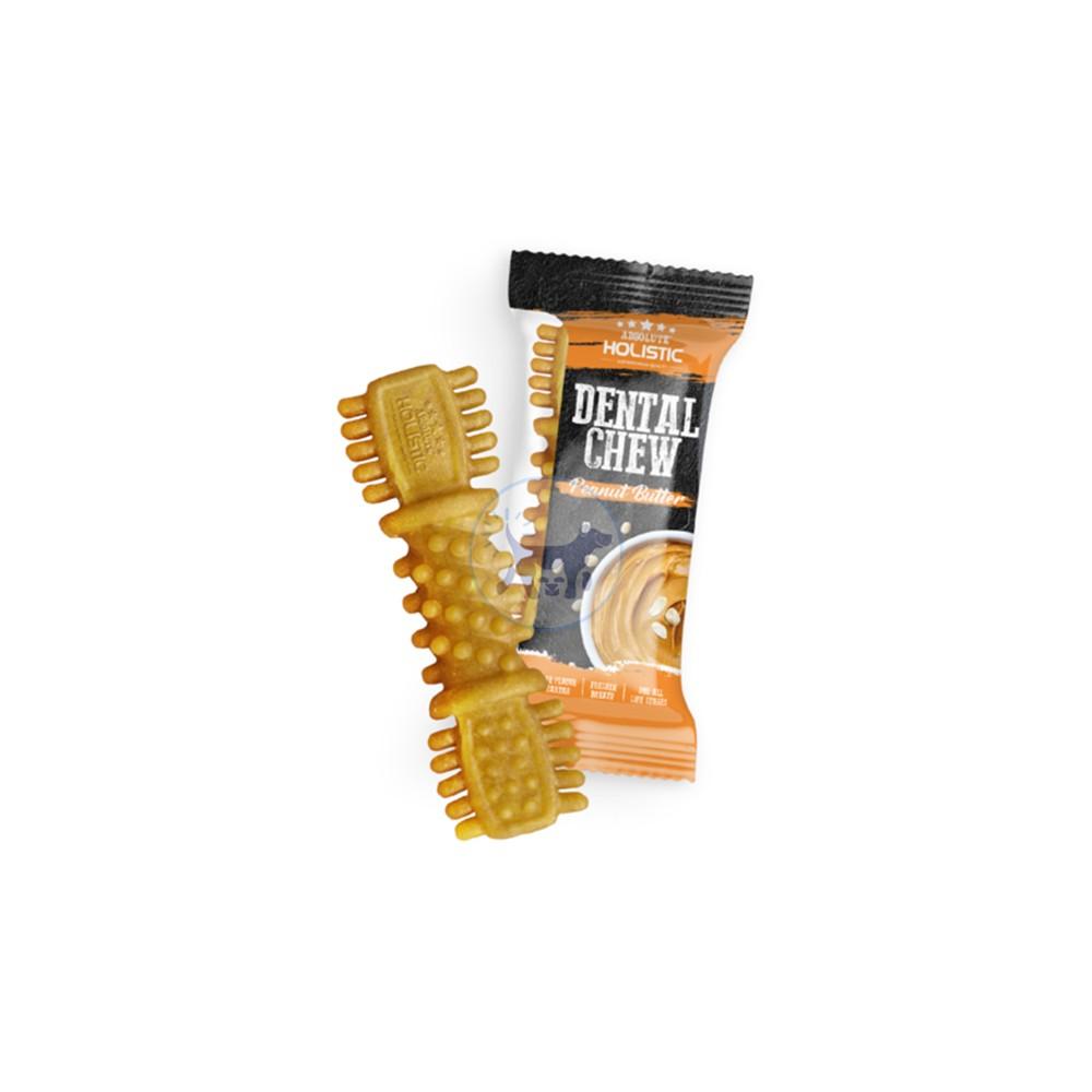 مضغ شامل لطب الأسنان مع زبدة الفول السوداني (25 جرام)
