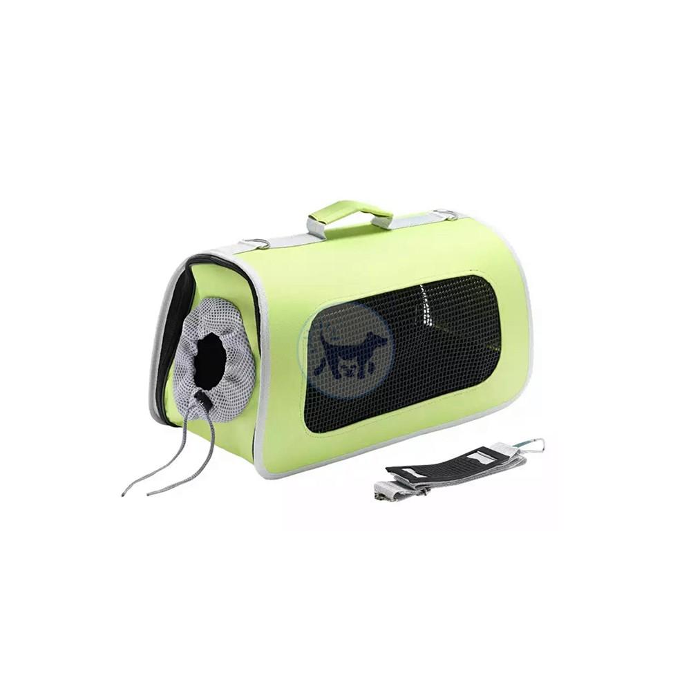 حقيبة قطط مع ثقوب تنفس جانبية - بمقاسين