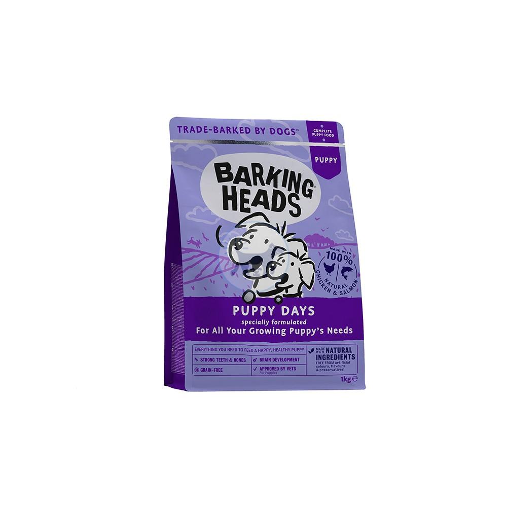 باركنج هيدز طعام جاف للجراء مع الدجاج والسلمون  2 كجم