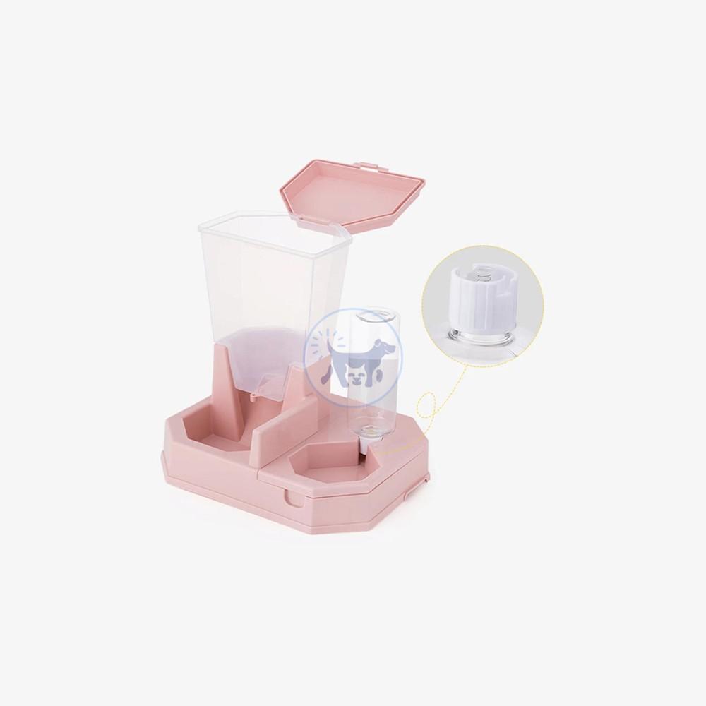 موزع مياه و طعام تلقائي للقطط و الكلاب  2× 1