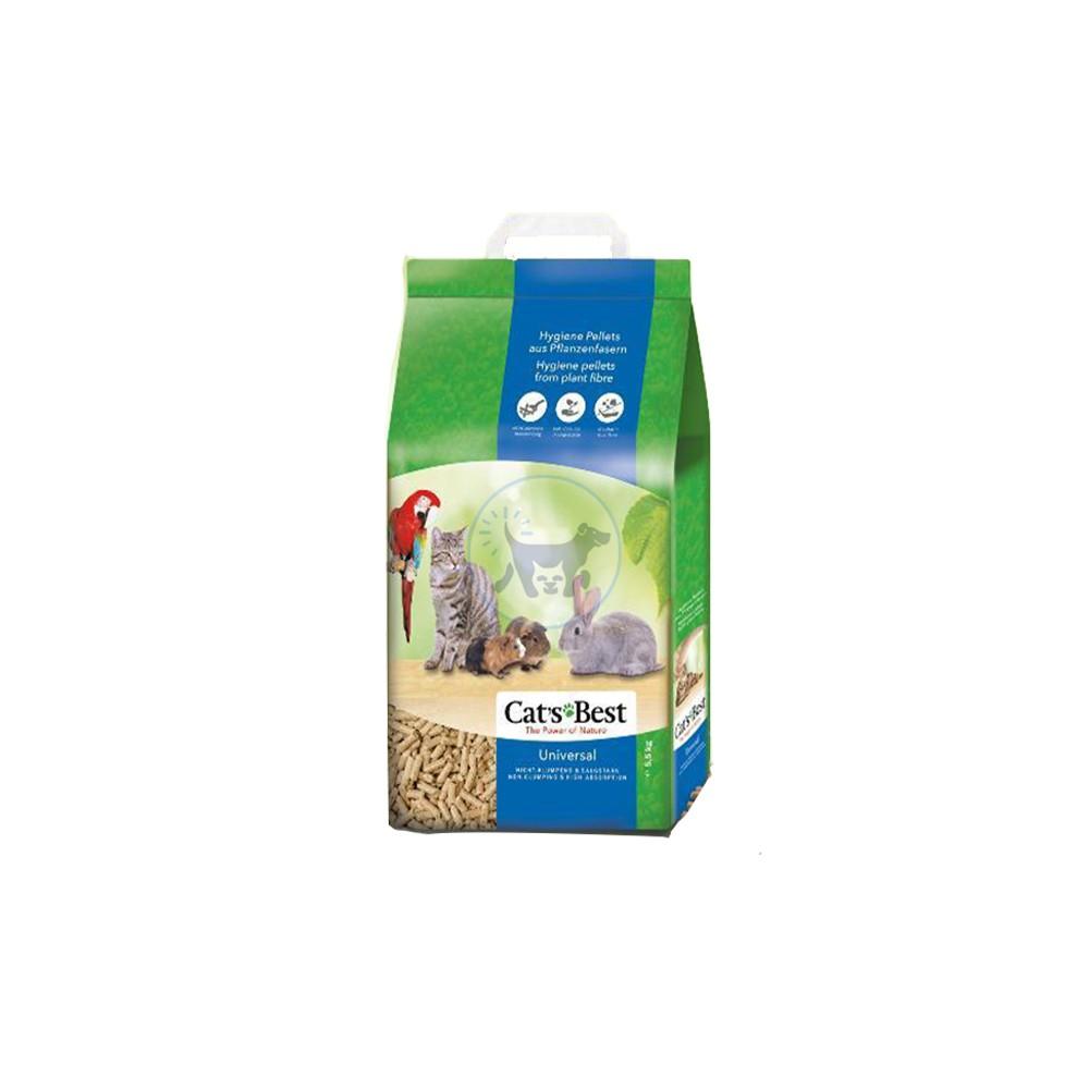 كات بيست مصنوعة من ألياف نباتية لجميع الحيوانات الأليفة 5.5 كجم