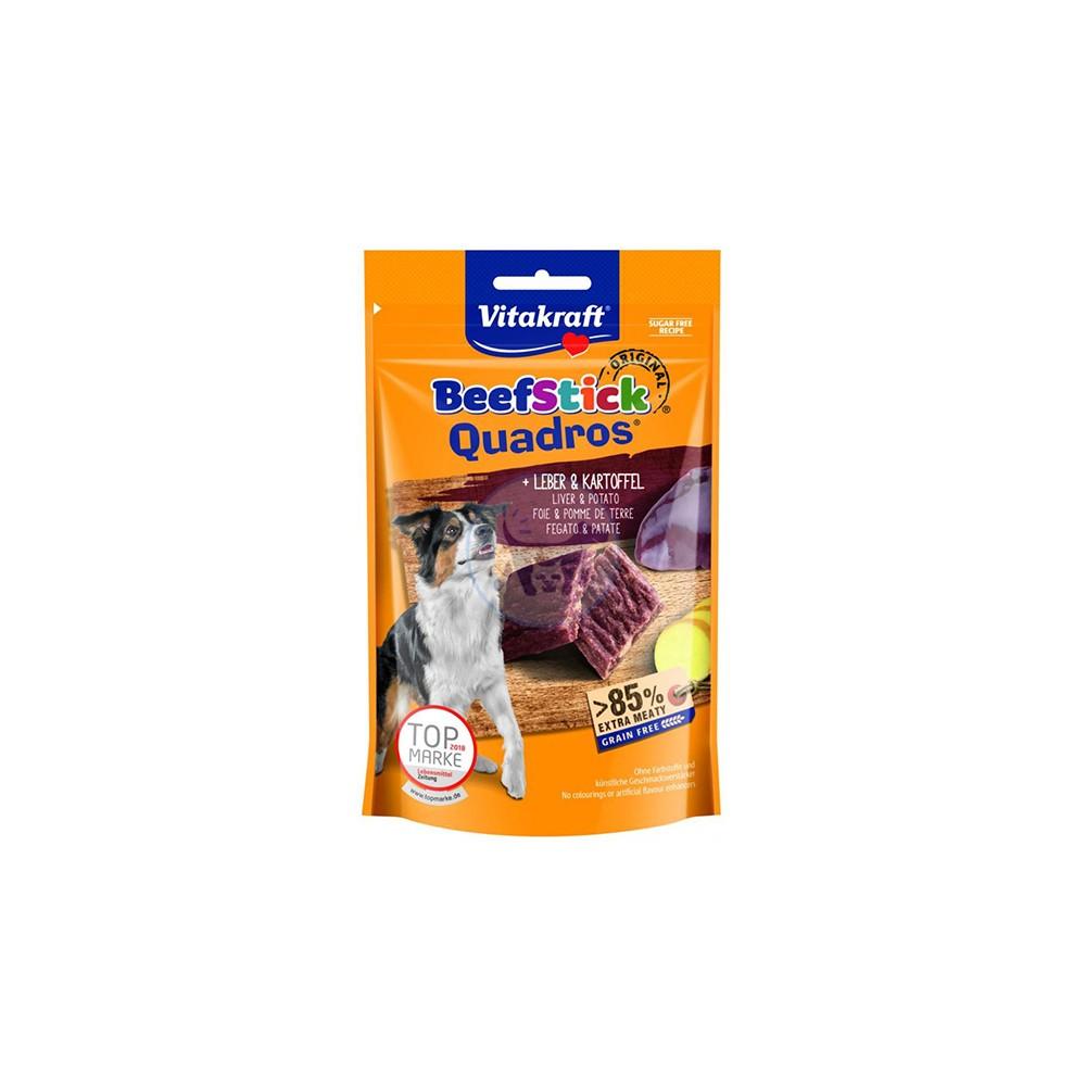 فيتاكرافت مكافأة كلاب قطع من شرائح اللحم والكبد مع البطاطس المجففة 70 جم