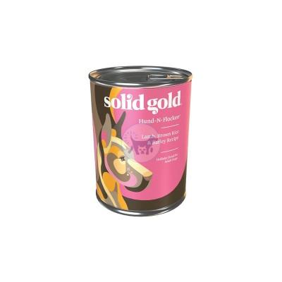 سوليد جولد - طعام رطب للكلاب البالغة مع لحم الضأن و الأرز البني 374جم