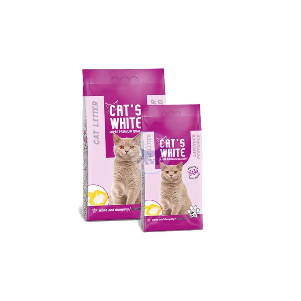 كاتس وايت - رمل قطط برائحة اللافندر 10 كجم
