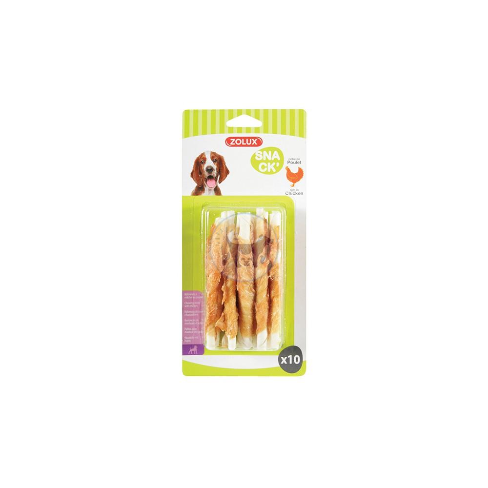 زولكس - مكافأة عصي الدجاج للكلاب × 10