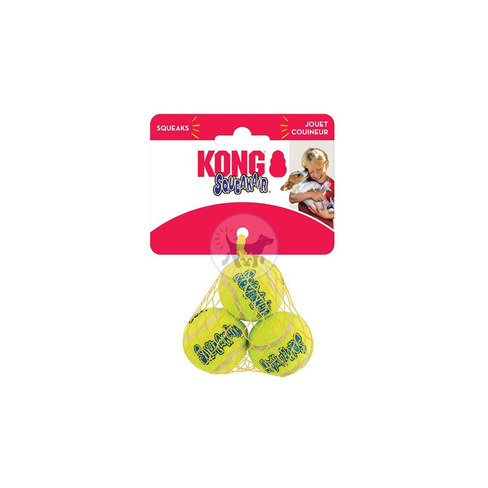 كونج - كرة التنس للكلاب XS × 3