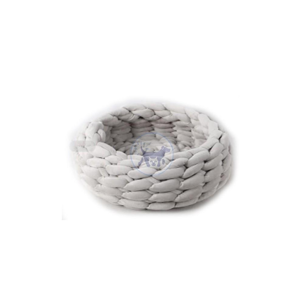 سرير القطط المصنوع من الأكريليك المحبوك - قطر 40 سم