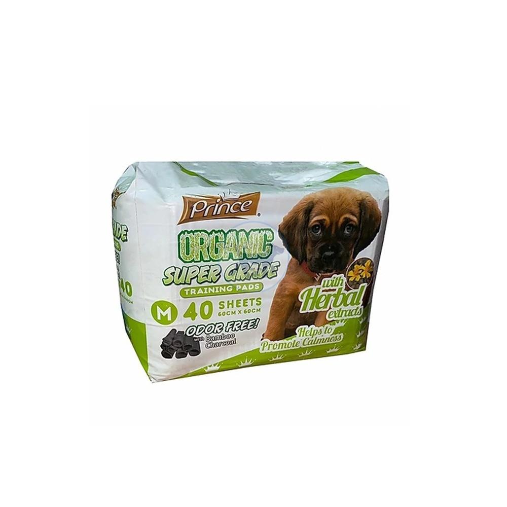 برنسيس مفارش لتدريب الكلاب برائحة الأعشاب 60 × 60 سم - 40 مفرش