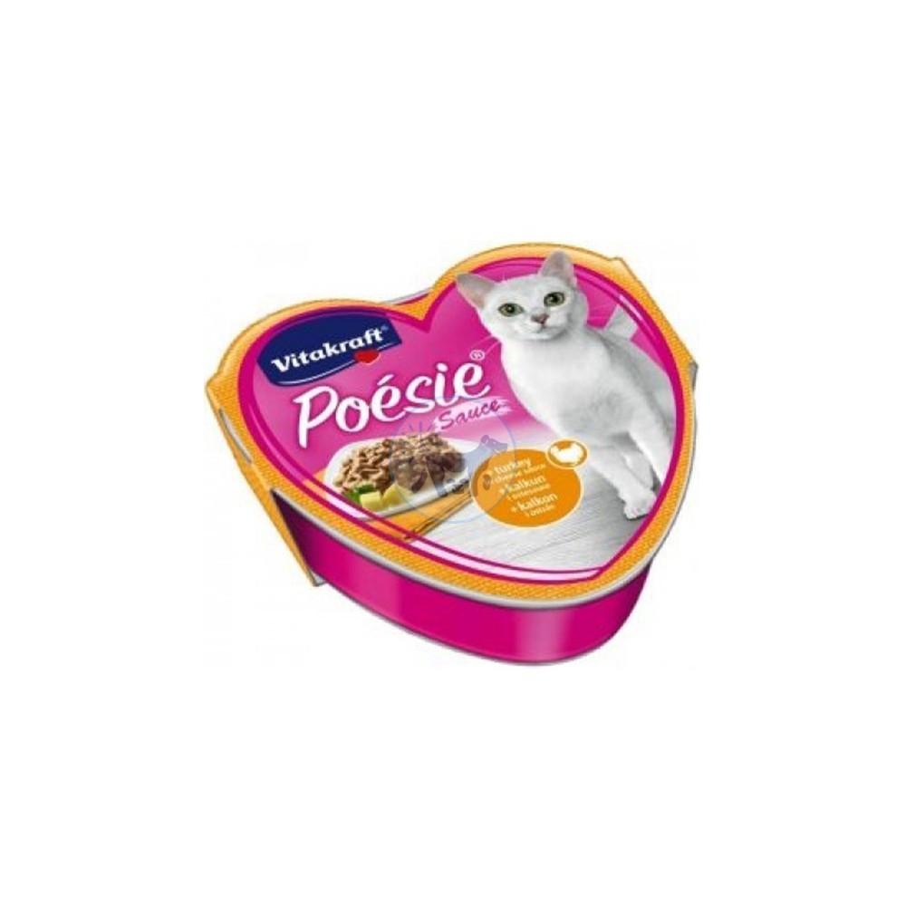 فيتاكرافت طعام قطط رطب مع الدجاج و الديك الرومي 85 جم