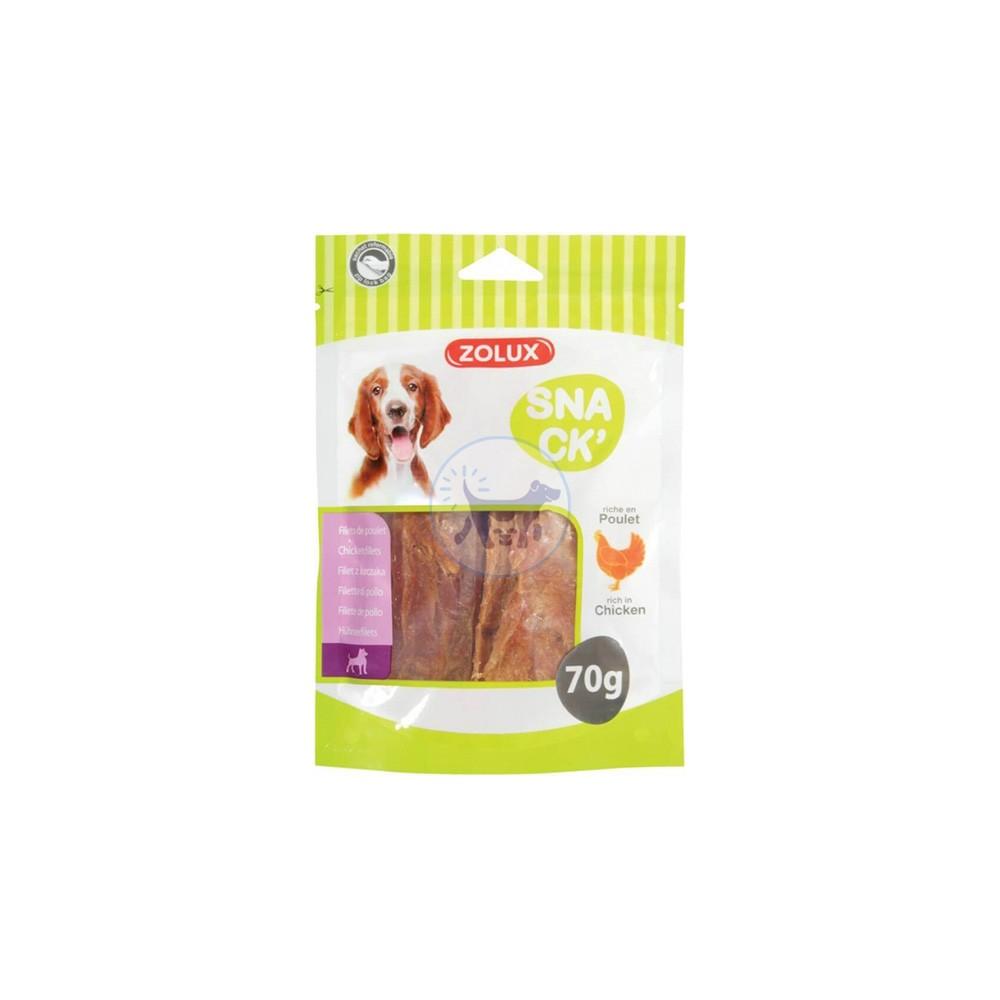 زولكس - مكافأة فيليه الدجاج للكلاب 70 جم