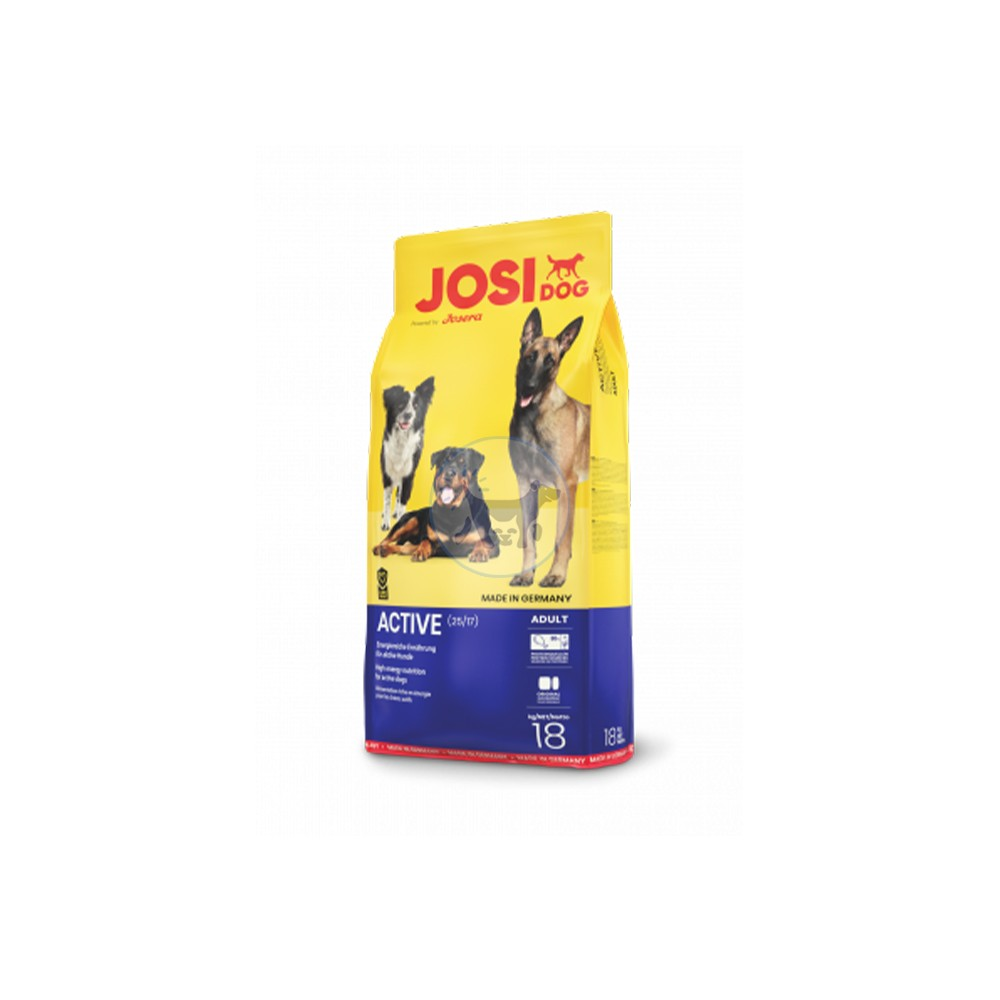 جوسي - طعام جاف للكلاب البالغة والنشطة 18 كجم