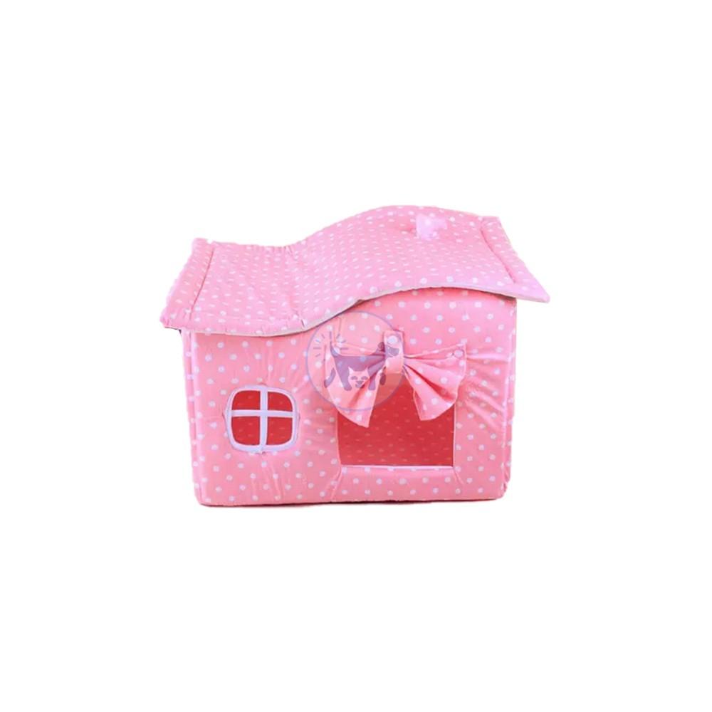 بيت من القماش للقطط والكلاب صغيرة الحجم