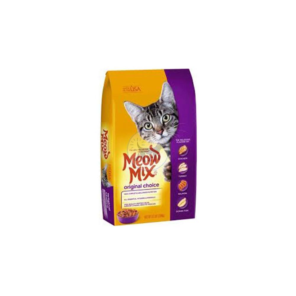 ميو ميكس طعام جاف بالنكهة الأصلية للقطط