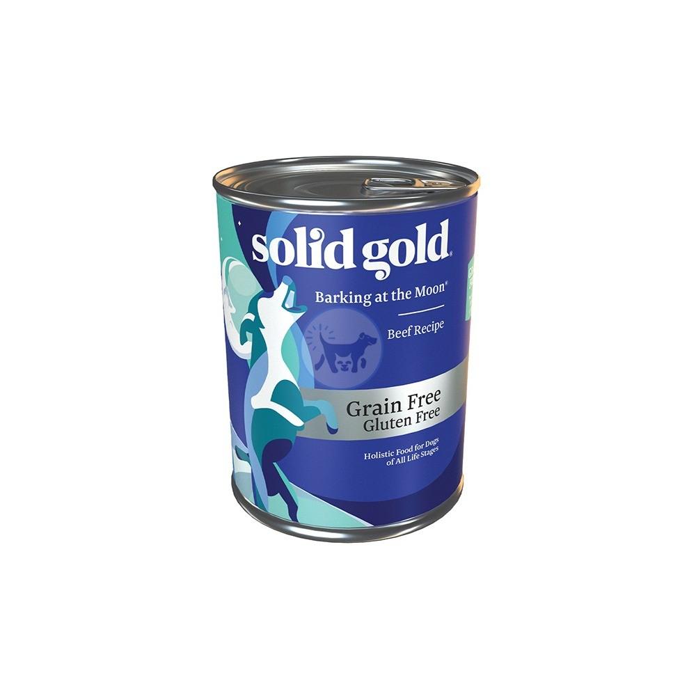 سوليد جولد - طعام رطب للكلاب من جميع الأعمار مع لحم البقر 374جم