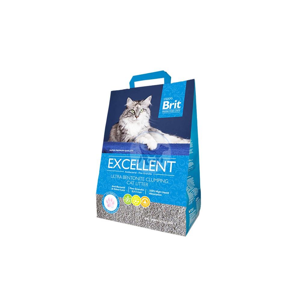 بريت فريش - رمل قطط ممتاز الترا بنتونيت ( من دون رائحة )