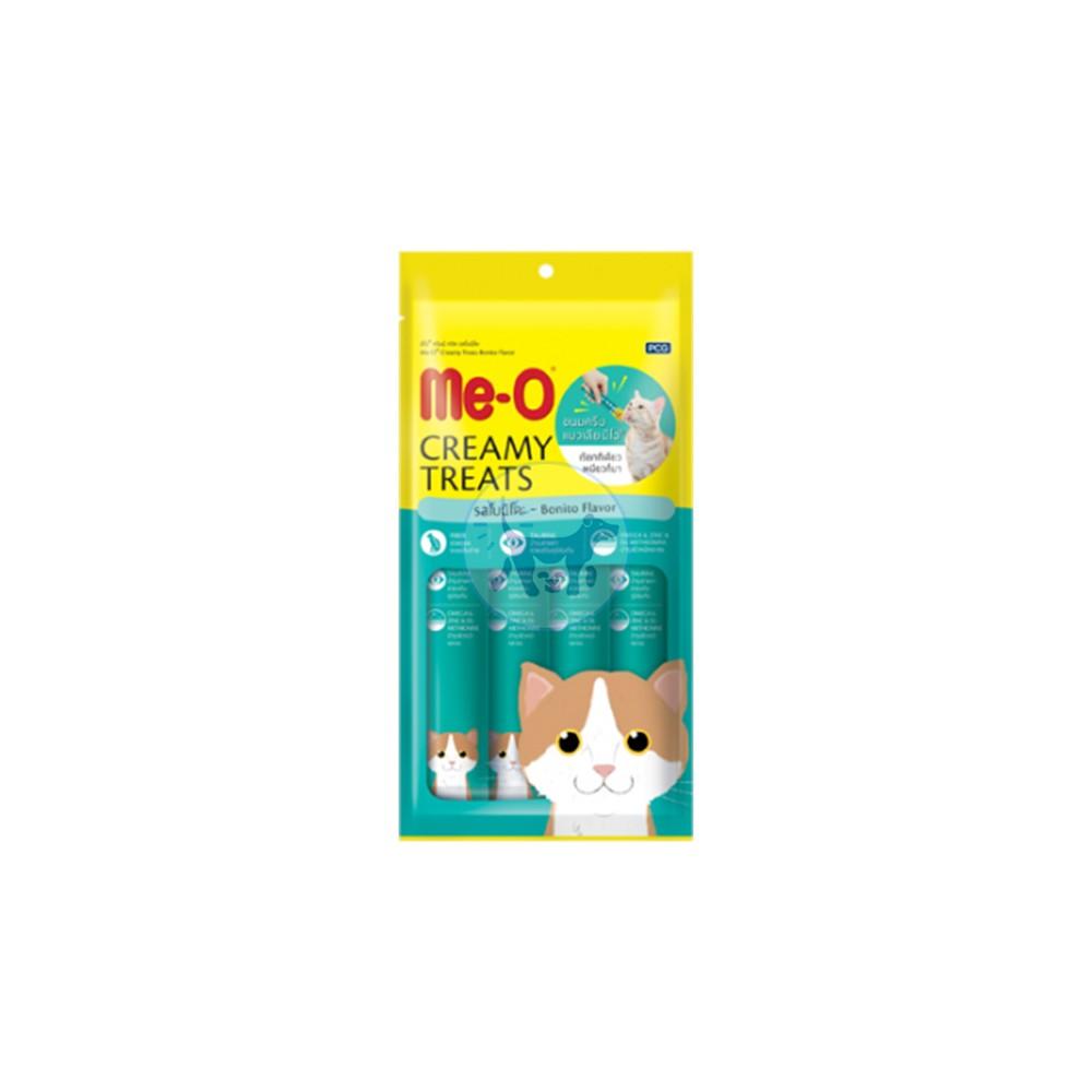 مكافأة كريمة للقطط - نكهة البونيتو 4 × 15 جم