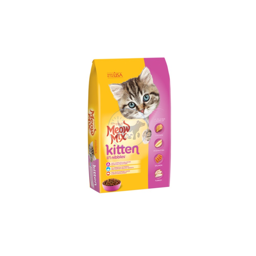 ميو ميكس طعام جاف للقطط الصغيرة