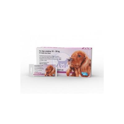 محلول موضعي (سليوشن ) للكلاب الكبيرة من وزن 10- 20كغ مضاد للطفيليات ( الحشرات والبراغيث )