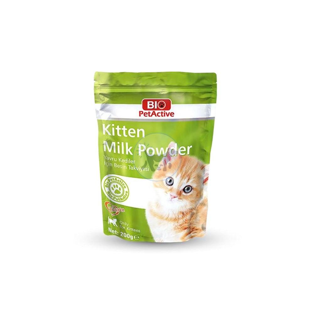 بيو اكتيف  حليب بودرة  لصغار القطط 200 غرام